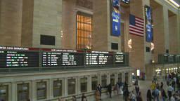 HD2008-8-24-2 Grand Central pan Footage