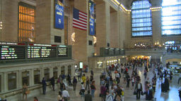 HD2008-8-24-2 Grand Central pan Stock Video Footage