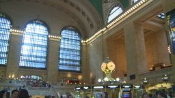 HD2008-8-24-10 Grand Central pan Stock Video Footage