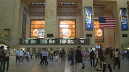 HD2008-8-24-12 Grand Central pan Stock Video Footage