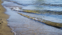 Waves Hitting The Coast Stock Video Footage
