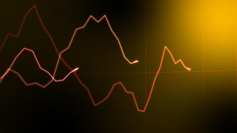 Graph 2 COr HD Stock Video Footage