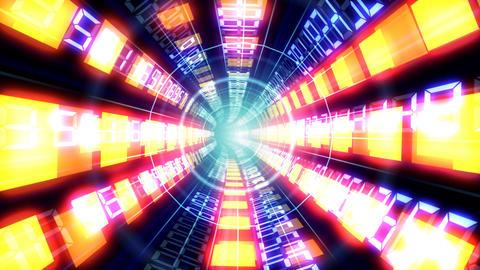 Data tunnel Da HD Stock Video Footage