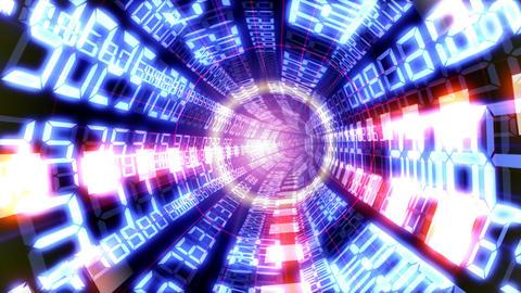 Data tunnel Ba HD Stock Video Footage