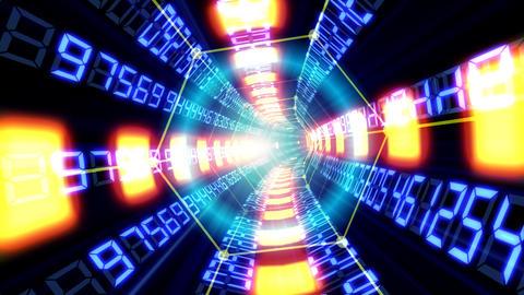 Data tunnel Ga HD Stock Video Footage