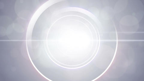 Opening intro Flash light flare W 1 white 4k Animation
