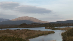Barren Landscape of Connemara Footage