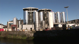 Cork City in Ireland Footage