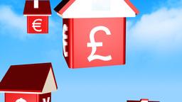 The falling property market animation Animation
