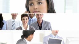 businesswomen at work Animation