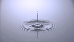 Water drop falling in super slow motion Live Action