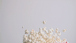 Spilling popcorn in super slow motion Footage