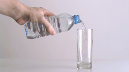 Water being poured in super slow motion Live Action