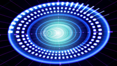 Data Tunnel 2 Eb HD Animation
