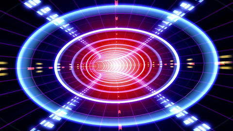 Data Tunnel 2 Fb HD Animation