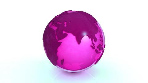 Earth translucid Stock Video Footage