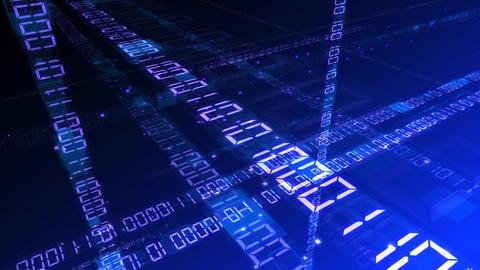 Digital network Data Bb HD Stock Video Footage