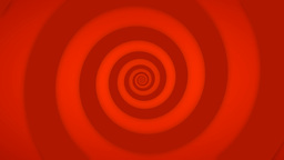 Red Retro Swirl Stock Video Footage