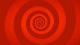 Red Retro Swirl Stock Video Footage