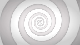 White Retro Swirl Animation