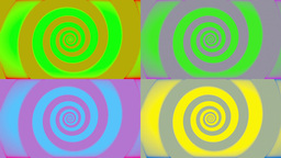 Pop Art Retro Swirl Animation