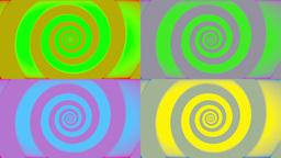 Pop Art Retro Swirl Stock Video Footage