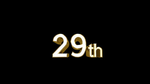 Day e 29 a HD Stock Video Footage