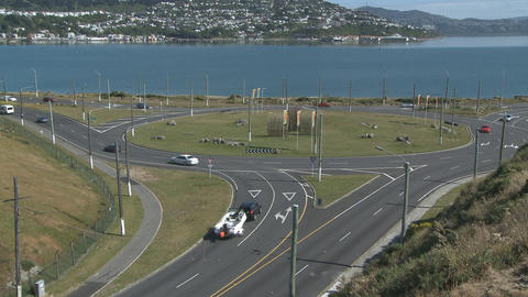 roundabout time lapse Stock Video Footage