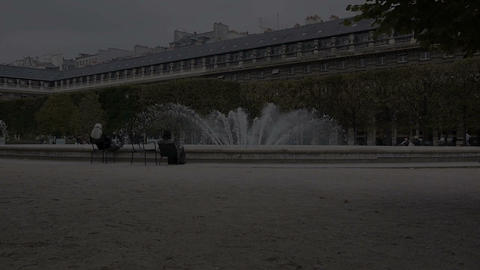 Palais Royal 2 Stock Video Footage