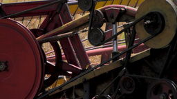 Rye Harvest Stock Video Footage