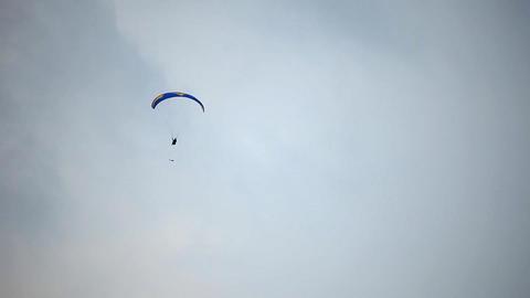 Paraplane Stock Video Footage