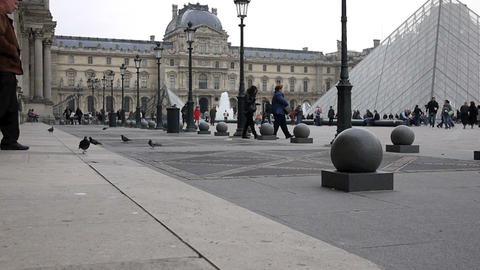 Louvre Footage