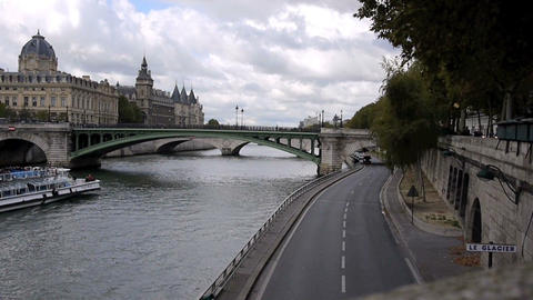 By the Seine Footage