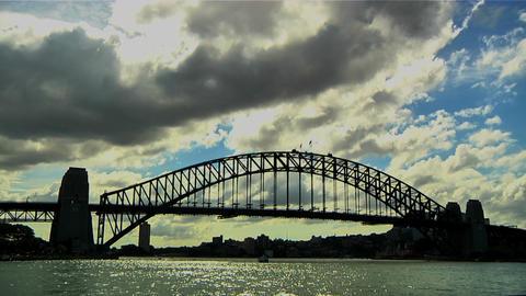 Sydney Harbour Bridge 02 Footage