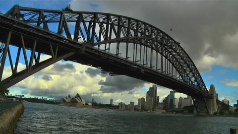 Sydney Harbour Bridge 06 Footage