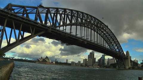 Sydney Harbour Bridge 06 Stock Video Footage