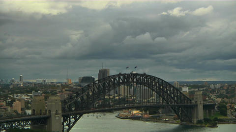 Sydney Harbour Bridge 10 Footage