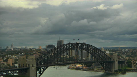 Sydney Harbour Bridge 10 Stock Video Footage