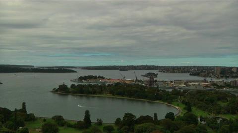 Sydney Harbour Bridge and Opera House 05 Stock Video Footage