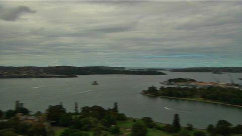 Sydney Harbour Bridge and Opera House 05 Footage