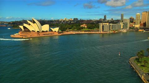 Sydney Opera House 04 Stock Video Footage