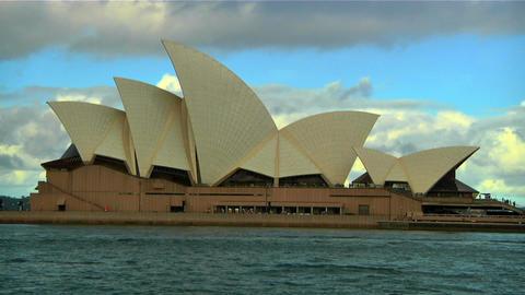 Sydney Opera House 06 Stock Video Footage