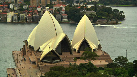Sydney Opera House 08 Stock Video Footage