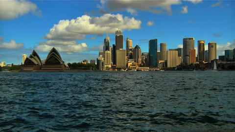 Sydney Opera House and CitySkyline Footage