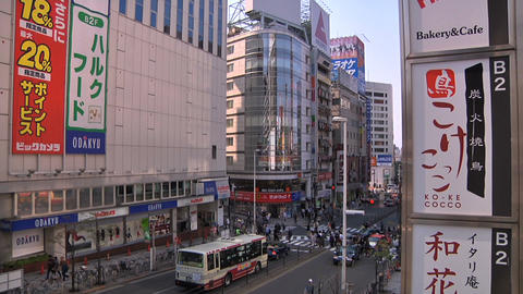 Tokyo Street 09 Stock Video Footage