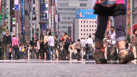 Tokyo Street 26 Stock Video Footage