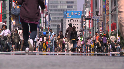 Tokyo Street 28 Stock Video Footage