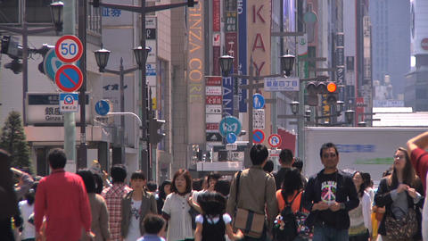 Tokyo Street 31 Stock Video Footage