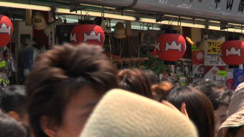 Tokyo Street People Walking CloseUp Footage