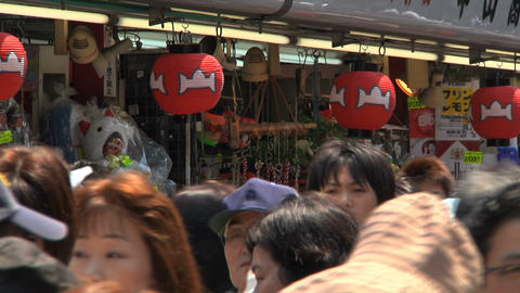 Tokyo Street People Walking CloseUp Stock Video Footage